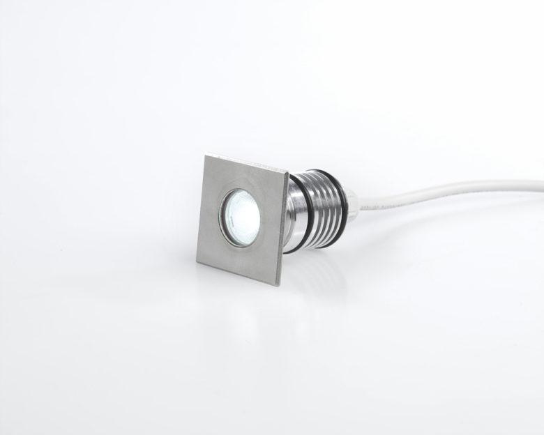 Spot LED quadrato