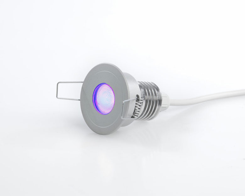 Faretto cromoterapia LED